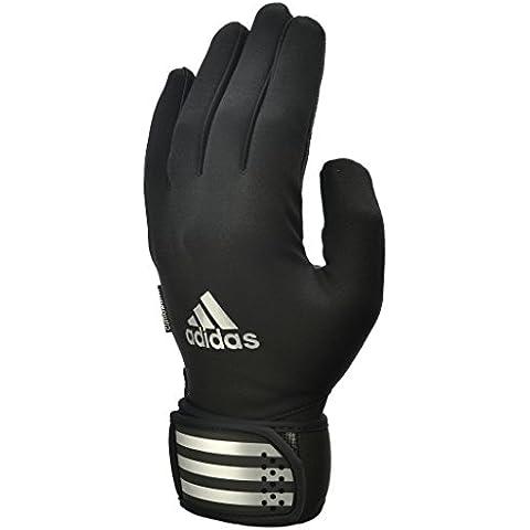 Guantes de entrenamiento Adidas exteriores - negro/negro, medio