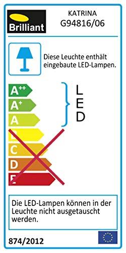 LED-Tischleuchte Inkl. LED-Leuchtmittel, 7,26W, 607 lm, Warmweiß (2.700 K)