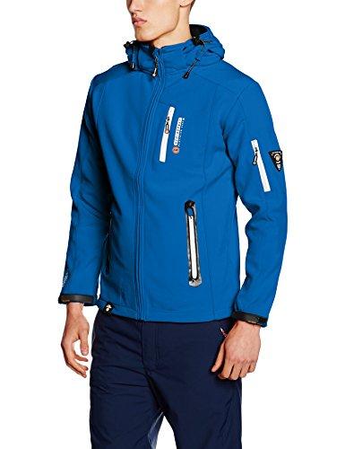 Geographical Norway TEVET Men Color, Chaqueta para Hombre, Azul (Blue), Large