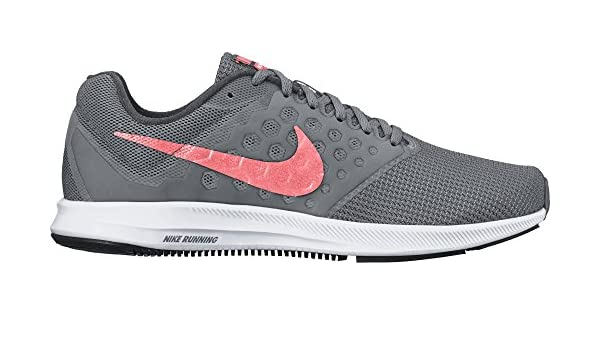 Nike Wmns Downshifter 1 Scarpe da Corsa Donna, Grigio (Cool Grey/Lava Glow/Dark Grey/White), 36.5 EU