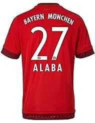 adidas Herren Spieler-Heimtrikot FC Bayern München Replica