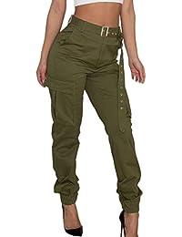 nuovo prodotto 161bd 03c72 Amazon.it: pantalone con tasche - Ultimi tre mesi: Abbigliamento