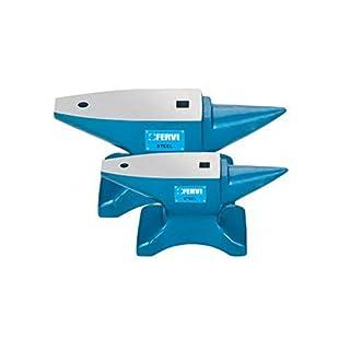 Anvil fervi from 50kg. Hardened Steel Professional C45fervi 0157/50