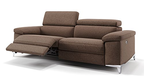 Stoff Sofa Sofagarnitur Relaxfunktion Relax Couch