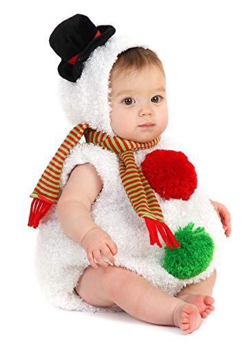 Baby Snowman Infant/Toddler Costume Size 6/12 Months (japan import) (Baby Gollum Kostüm)