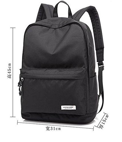 Slim Laptop Rucksack Lightweight Rucksack School Book Taschen Blue
