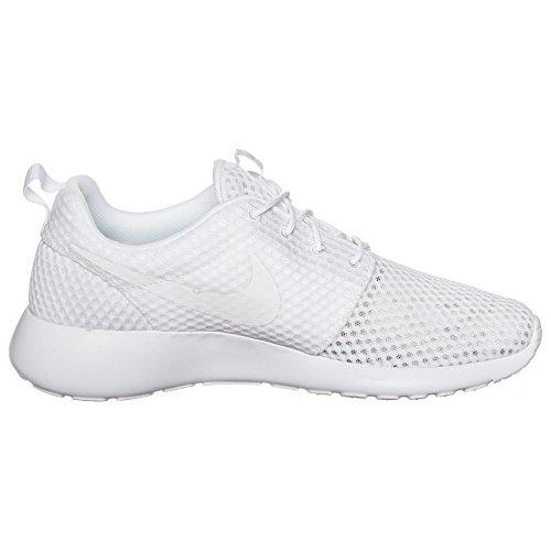 Nike Rosherun Winter, Baskets mode femme blanc