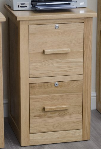 Bargain Arden Solid Oak Furniture Office Filing Cabinet With Locks on Amazon