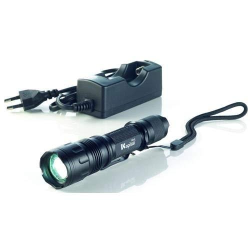 Kapital KL840CR - Linterna De Bolsillo Con Bateria Recarga