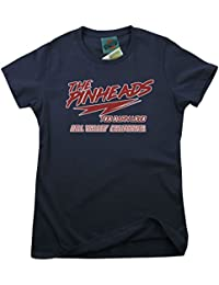 Bathroom Wall Back To The Future Inspired Pinheads Movie, Women's T-Shirt