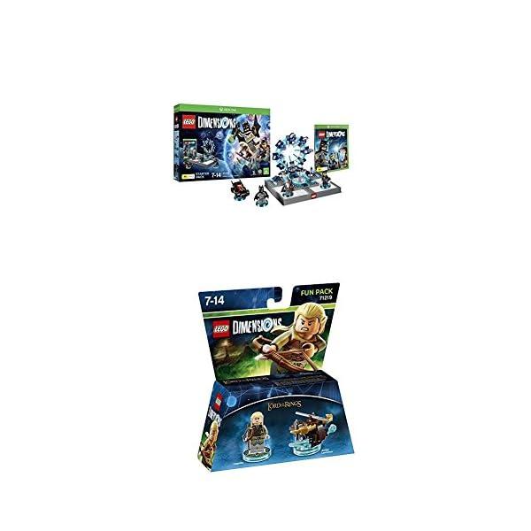 LEGO - Starter Pack Dimensions (Xbox One) + LEGO Dimensions - El Señor De Los Anillos, Legolas 1
