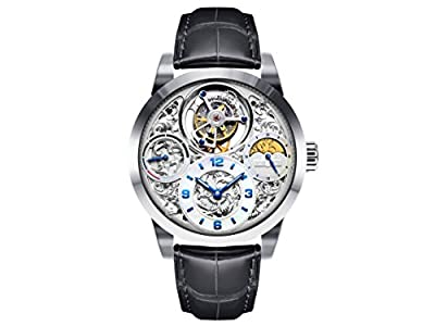 Men's MO1231 Imperial Stainless Steel Tourbillon Watch