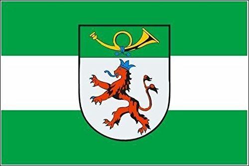 U24 Fahne Flagge Langenfeld Bootsflagge Premiumqualität 30 x 45 cm