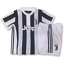 Conjunto Equipacion Camiseta Jersey Futbol Juventus Paulo Dybala 21 Replica Autorizado Para Hombre Talla de Niño (12 años)