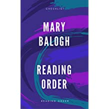 MARY BALOGH: READING ORDER AND CHECKLIST (English Edition)
