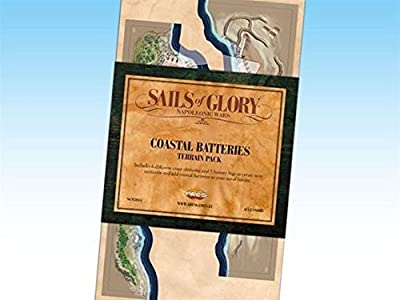 Sails of Glory: Terrain Pack: Coastal Batteries