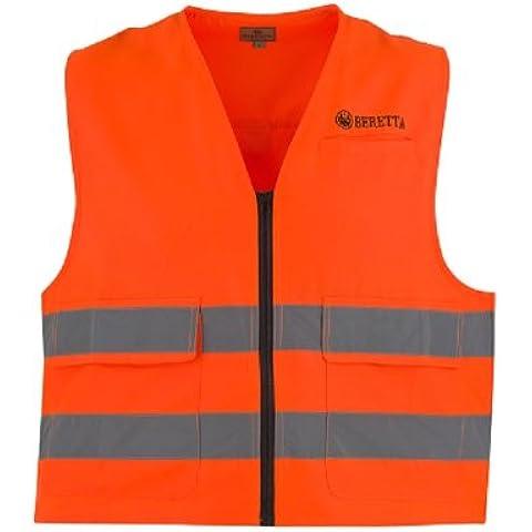 Beretta Signalweste - Chaleco de caza para hombre, color naranja, talla M