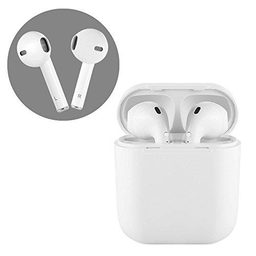 DIEWU Auricolare Bluetooth V4.2 + i8 TWS Auricolari wireless con caricatore magnetico per iPhone, telefono Android