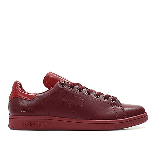 fc85180f6d35 adidas x RAF Simons Men Stan Smith Burgundy Power red collegaite Burgundy  Size 9.0 US