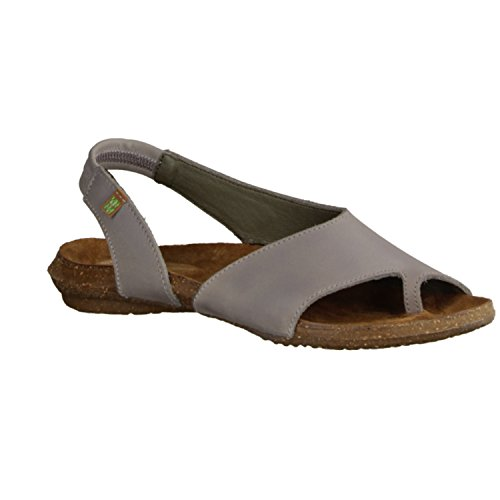El Naturalista ND74 Sandalettes Pour Femme sportif Boden Gris (gris)
