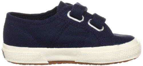 Superga 2750 Jvel Classic, Sneakers Basses mixte enfant Bleu (933 Navy)