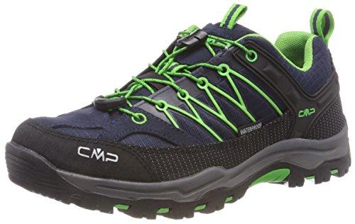 CMP - F.lli Campagnolo Unisex-Erwachsene Rigel Trekking-& Wanderstiefel, Blau (B.Blue-Gecko 51AK), 38 EU