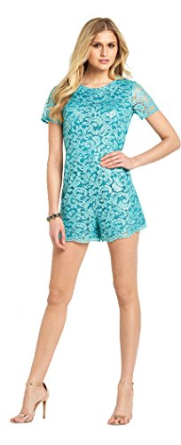definitions-metallic-lace-playsuit-in-turquoise-size-8
