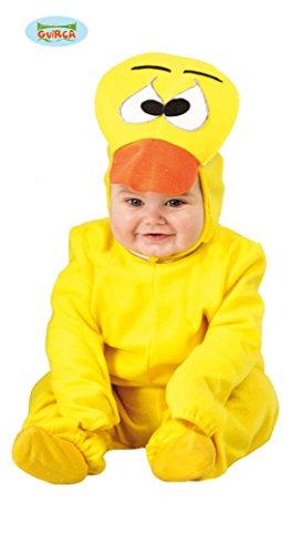 Baby Ente - Kostüm für Kinder Gr. 86 - 98, Größe:92/98 (Ente Kostüme Für Baby)
