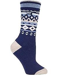 Heat Holders Lite - Mujer calientes calcetines térmicos finos invierno para frio en 5 colores,