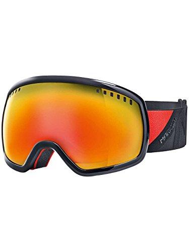 Occhiali da Neve da Uomo Marker Big Picture + Otis Black Goggle, red plasmir, Taglia unica