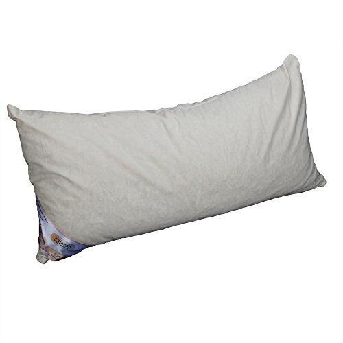 Hilfe bei Schlafstörungen, Wetterfühligkeit und Kopfschmerzen. Zirbenkissen 80 x 40 cm, deutsche Handarbeit, Kopfkissen + GRATIS Außenbezug