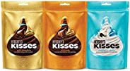 Kisses Hershey's Kisses Cookies n Crème, Almonds & Milk Chocolate, 100.8g (Pa