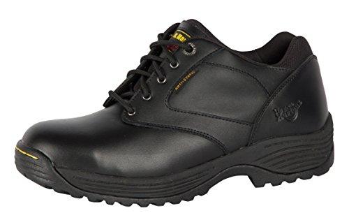 Dr Martens Mens Lace Up Safety Shoes FS206 Black Black
