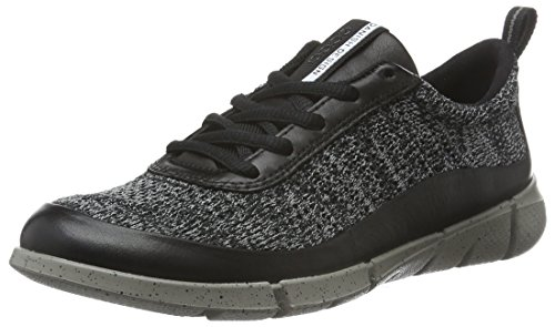 ECCO Intrinsic 1, Scarpe Sportive Outdoor Donna Nero (BLACK/CONCRETE50168)