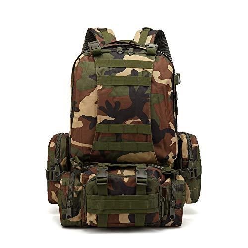 Mochila Militar,JiaMeng Mochila táctica Militar al Aire Libre Paquete de Asalto Mochila de Combate...