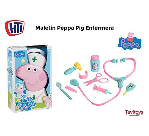 Tavitoys,S.A. Maletin Medico Peppa Pig con Accesorios