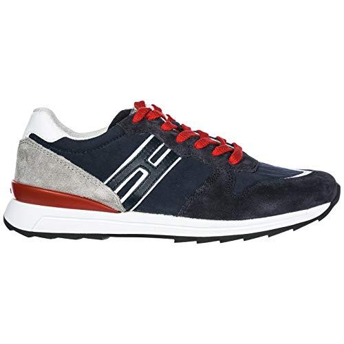 Hogan Rebel Sneakers R261 Bambino Blu 35 EU 8309f0af35c