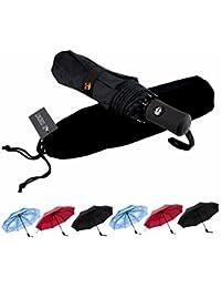 SY Compact Travel Umbrella Windproof Automatic LightWeight Unbreakable Umbrellas-Factory Direct High Cost-effective Umbrella