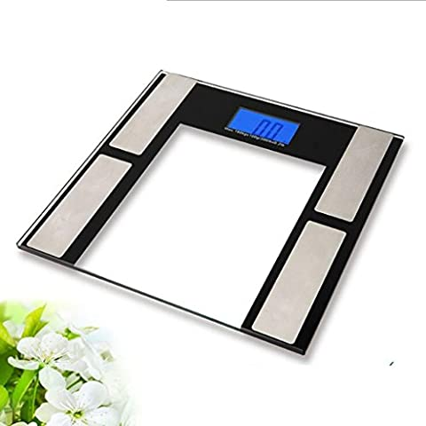 Jingzou Home Fat Scale Hotel Bluetooth Gewicht Körperwaage Haushalt Gesundheit Elektronische Waage30*29*2CM