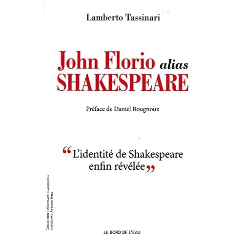 John Florio Alias Shakespeare