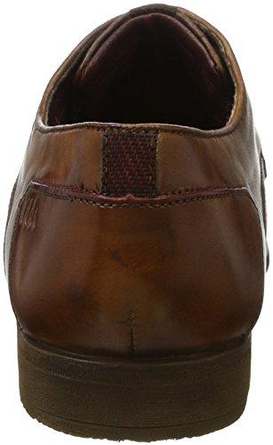 bugatti Herren 312295021100 Derbys Braun (Cognac)