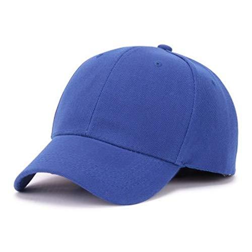 Baby Kostüm Head Big - GUOSH Männer Big Head Baseball Cap Erwachsene Schirmmütze mit großem Umfang 56-68cm Hip Hop Hut Blau 1