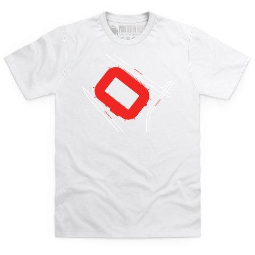 Philips Stadion T-Shirt, Herren Schwarz