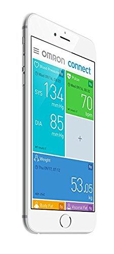 OMRON M7 Intelli IT Misuratore di Pressione da Braccio, Connessione Bluetooth per App OMRON Connect, Bracciale Intelli Wrap Cuff - 3