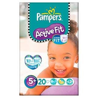 Pampers Active Fit Size 5+ (13-27kg) x 20 per pack