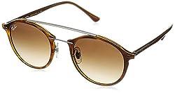 Ray-Ban Gradient Phantos Unisex Sunglasses - (0RB426662011349|48|Brown Gradient Dark Brown Color)