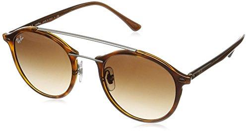 Rayban Unisex Sonnenbrille RB4266 Mehrfarbig (Gestell: Havana,Gläser: braun 620113)), Small (Herstellergröße: 49)