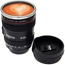 Inglis Lady Popshow Camera Lens Coffee Mug 400 Ml, Black