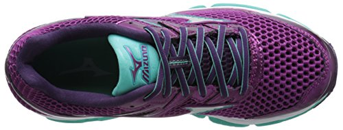 Mizuno Wave Enigma 5 Synthétique Chaussure de Course Wild Aster-Silver