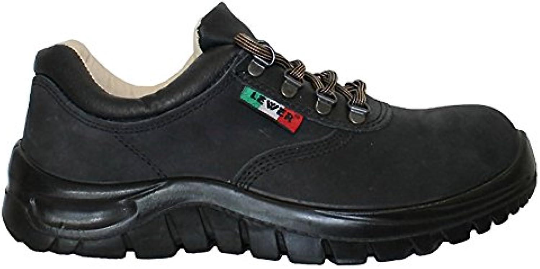 Zapatos de seguridad unisex LEWER antideslizantes CLASSIC PLUS 1070 S3 - 47